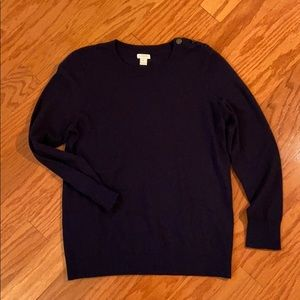J.Crew navy sweater